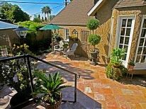 Slate Patio/Container Gardening