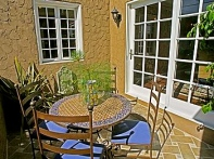 Tiled Patio