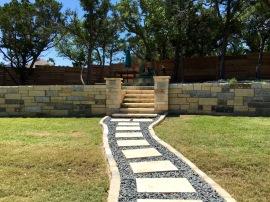 Limestone Walkway