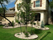 Organic design with native landscaping