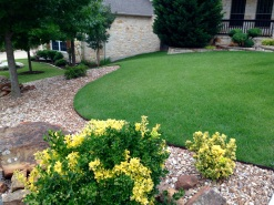 Turf reduction + xeriscape landscaping