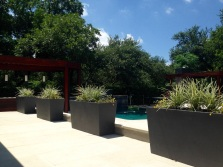 Container landscaping